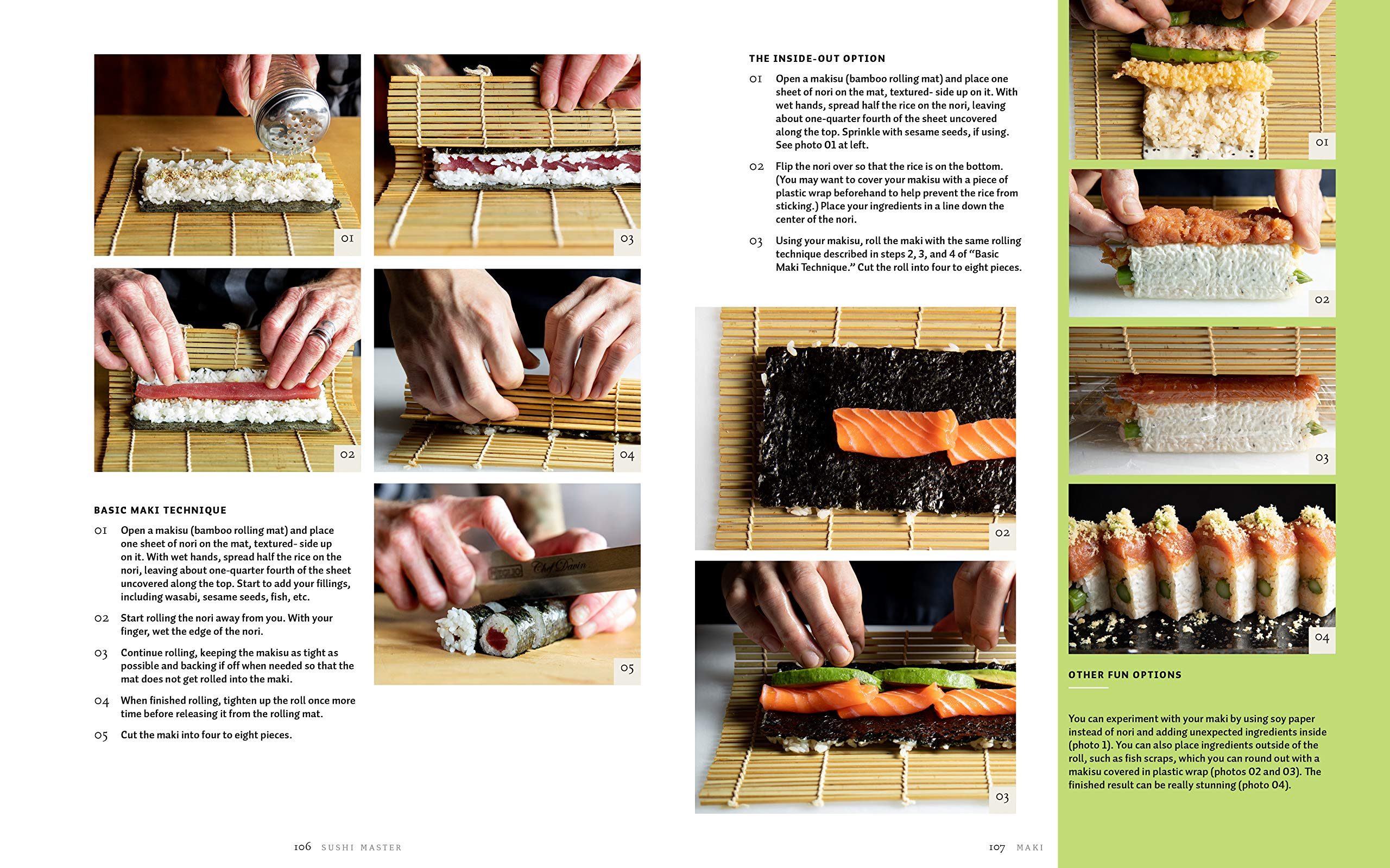making and enjoying sushi at home Sushi Master An expert guide to sourcing