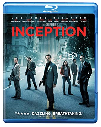inception dvd nolan