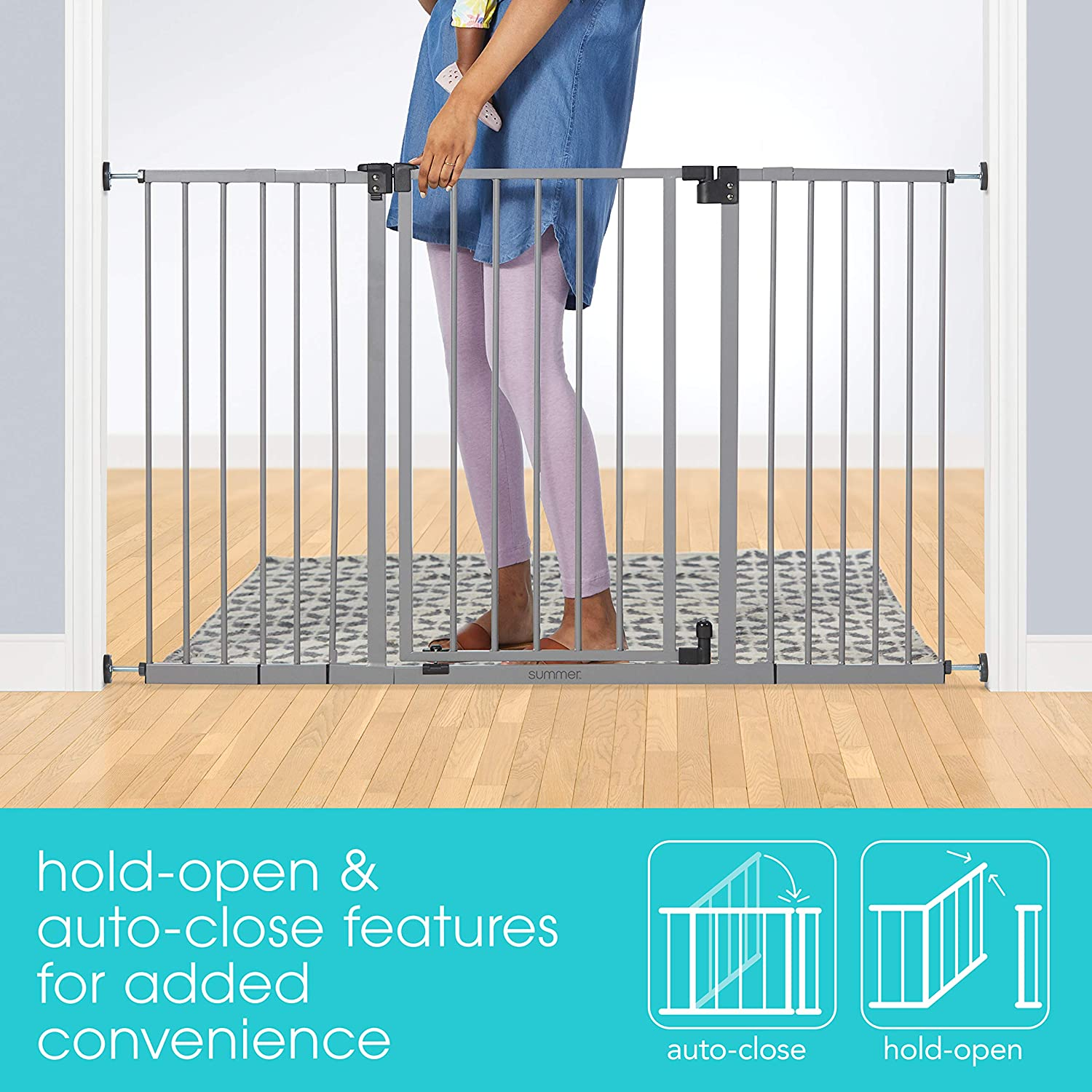 Summer Infant Secure Space Extra-Wide Safety Gate