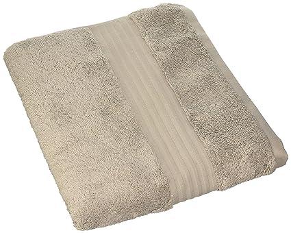Coin Casa 6681571 toalla de suave esponja Supima Zefiro Gold, 100% algodón, gris