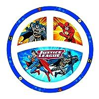 Deals on NUK Justice League Plate, Batman & Justice Leauge 1pk