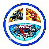 NUK Justice League Plate, Batman & Justice