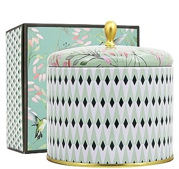 La Jolie Muse Bougie Parfume Cadeau De Nol Fte Grandes 400g 100 Soy Wax