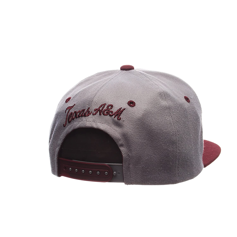 Zephyr NCAA Mens Z11 Slate Snapback Hat
