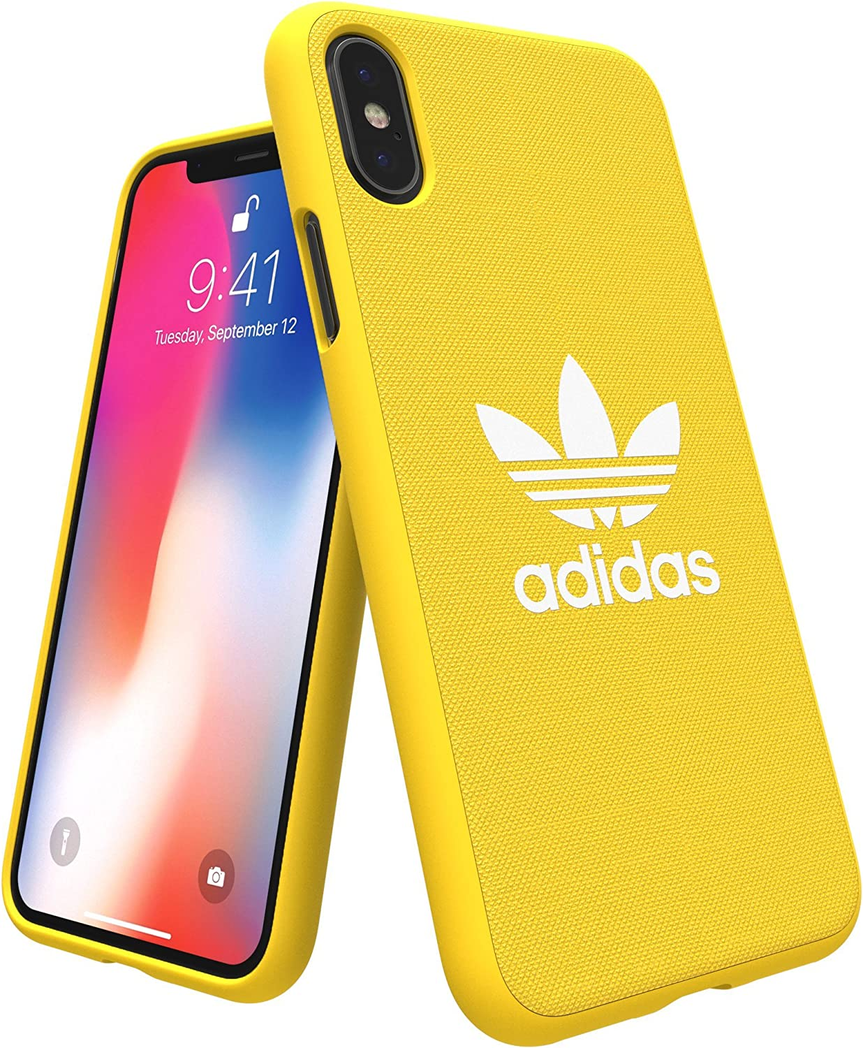 Adidas Originals Adicolor Mobile Phone Case Compatible with iPhone X Yellow