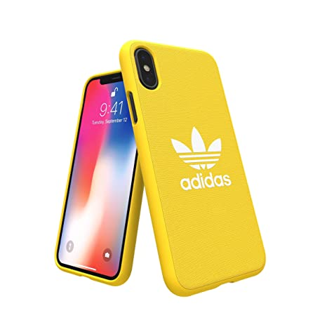 adidas Originals Adicolor Moulded Case/Cover for Apple iPhone X (Yellow)