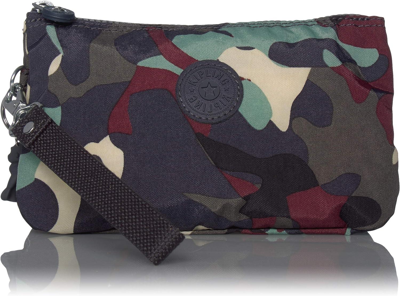 Kipling Creativity - Funda de piel con diseño de camuflaje