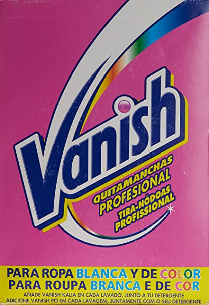 Vanish Quitamanchas Polvo Regular 5,95 kg