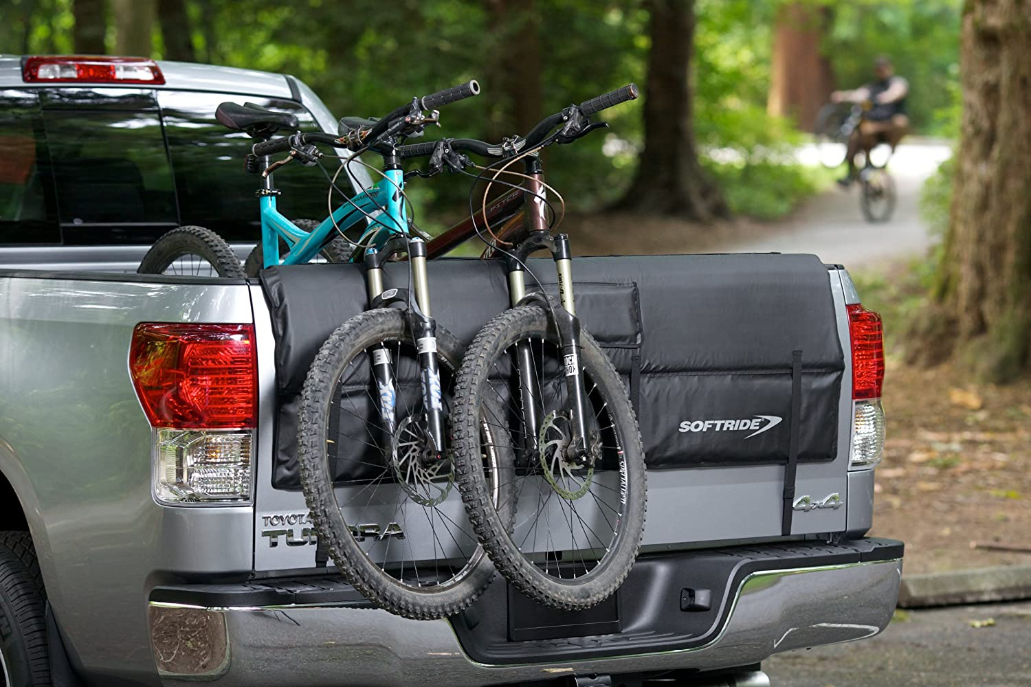 New Small Truck Tailgate Pad Shuttle Pad 5 Bikes For Small /& Middle Pickup Truck