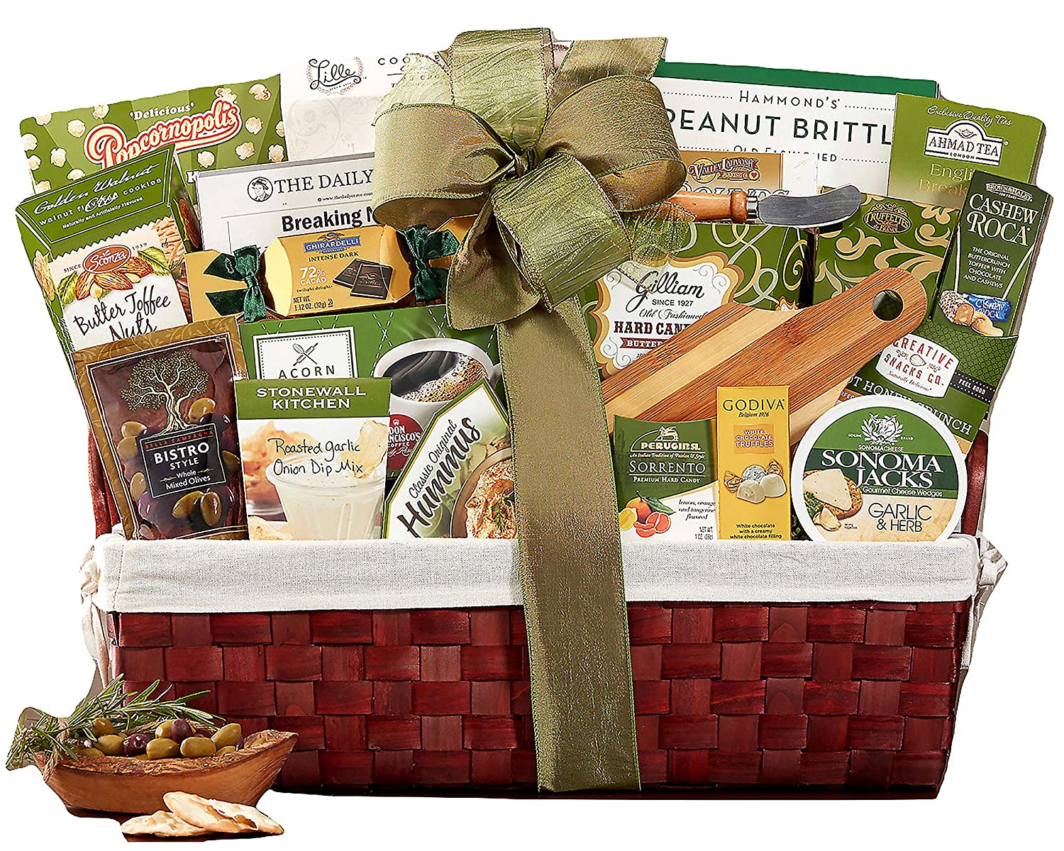 Amazon.com : Wine Country Gift Baskets With Our Sincere Condolences Sympathy Gift Basket : Gourmet Food : Grocery & Gourmet Food
