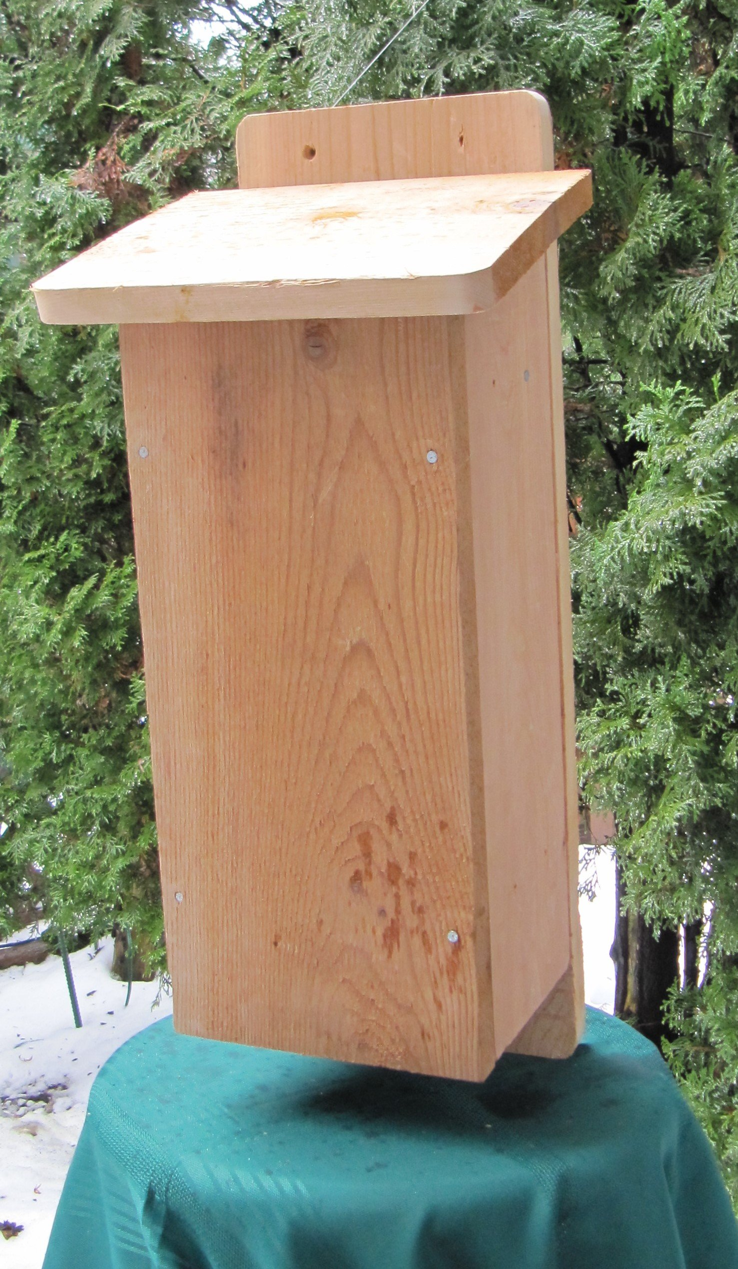Backyard Bird Centre Bat House Kit by I Can Build It - Attract Bats to Nest in Your Yard ...