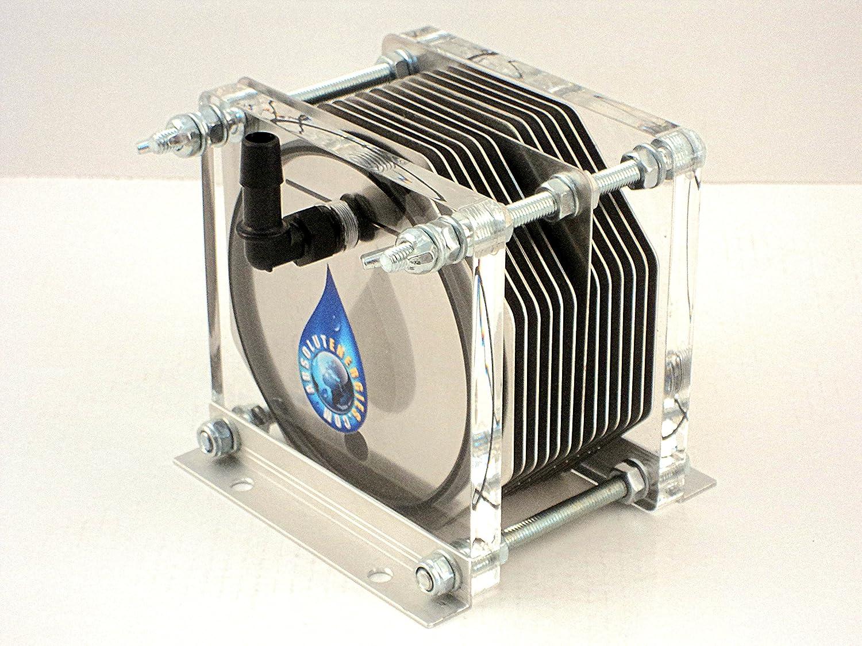 Hho Generator Bec 1500 Dry Cell 13 Plates 100 Inox Hydrogen Fuel Economy Auto