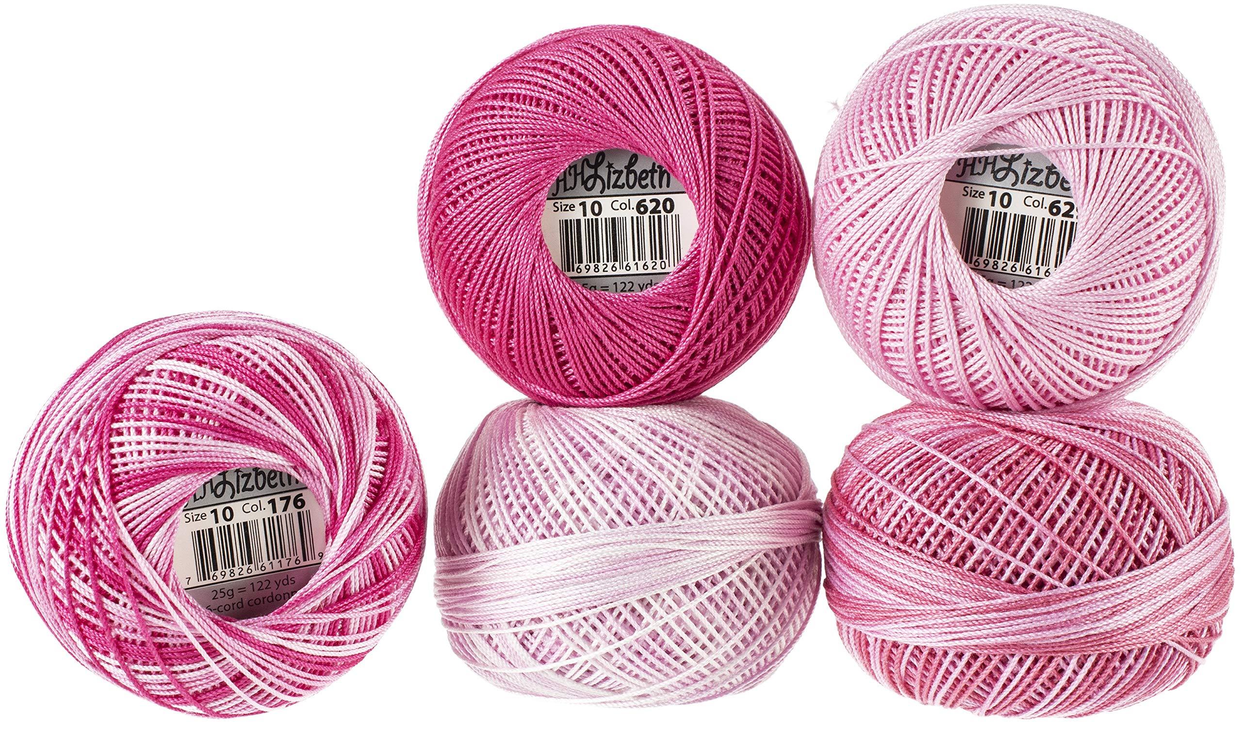 Handy Hands Lizbeth Specialty Pack Cordonnet Cotton Size 10-Ballerina 5/Pkg