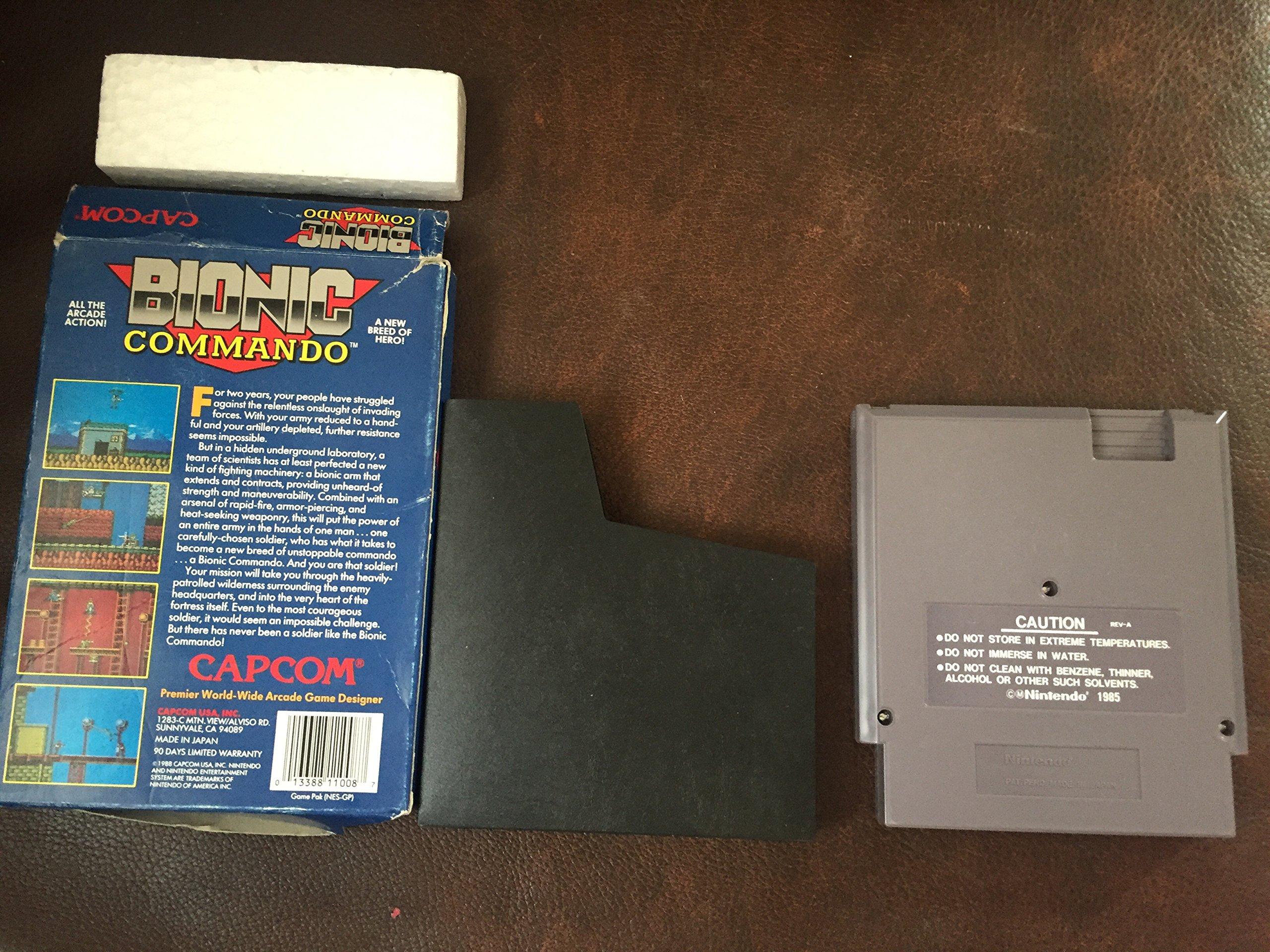 Amazon.com: Bionic Commando - Nintendo NES: Video Games