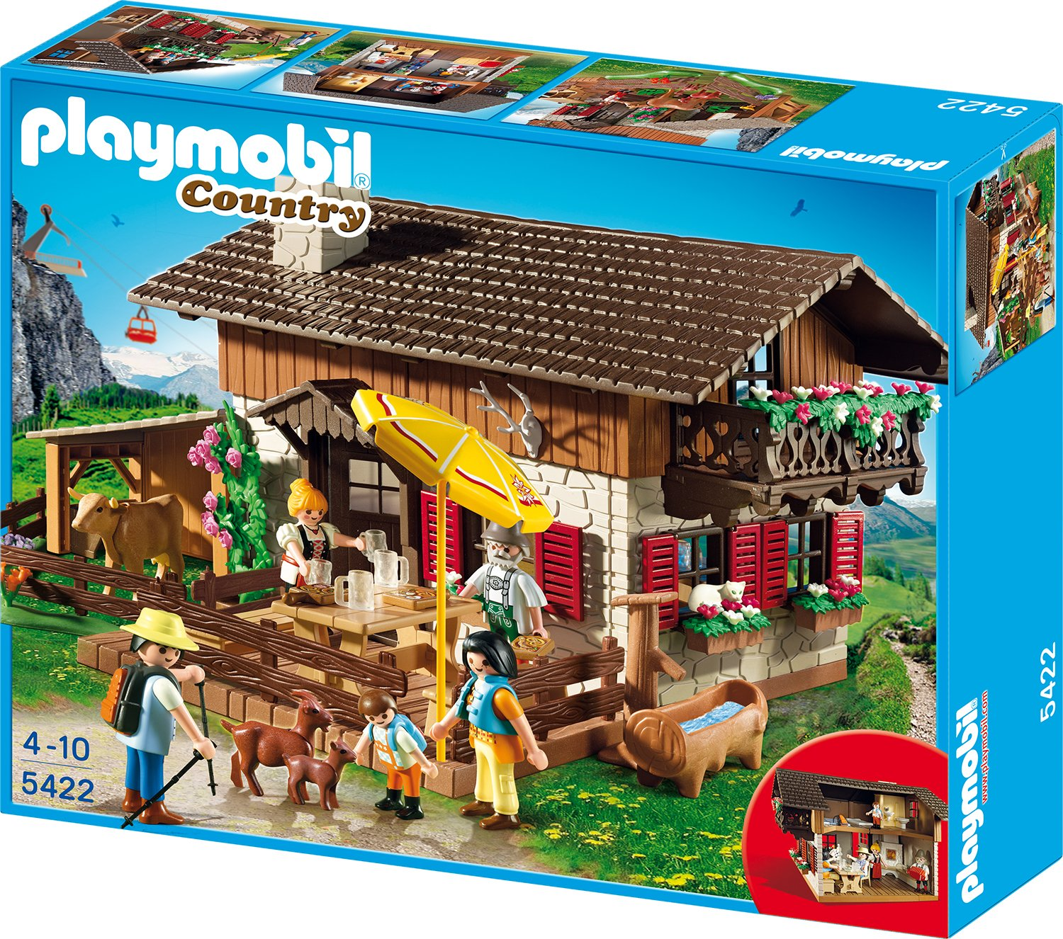 Amazon Almhütte Playmobil
