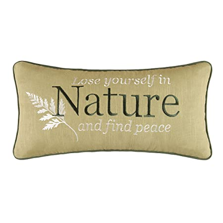 C F Home 10×20 Embroidery Pillow, Althea Multi
