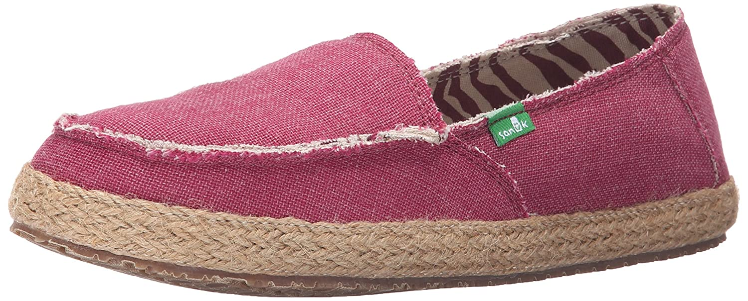 Sanuk Women's Fiona Flat B015HVBKZA 6 B(M) US|Dusty Boysenberry