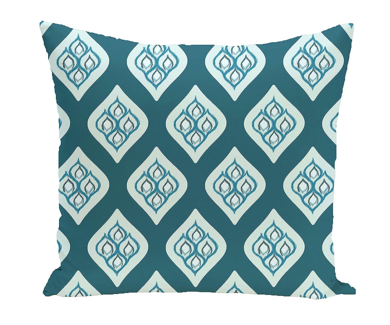 E by design Decorative Pillow Teal, Aqua