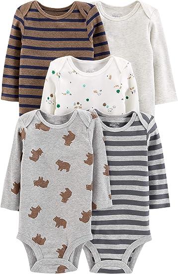 Simple Joys by Carters Pack de 3 Monos para beb/és