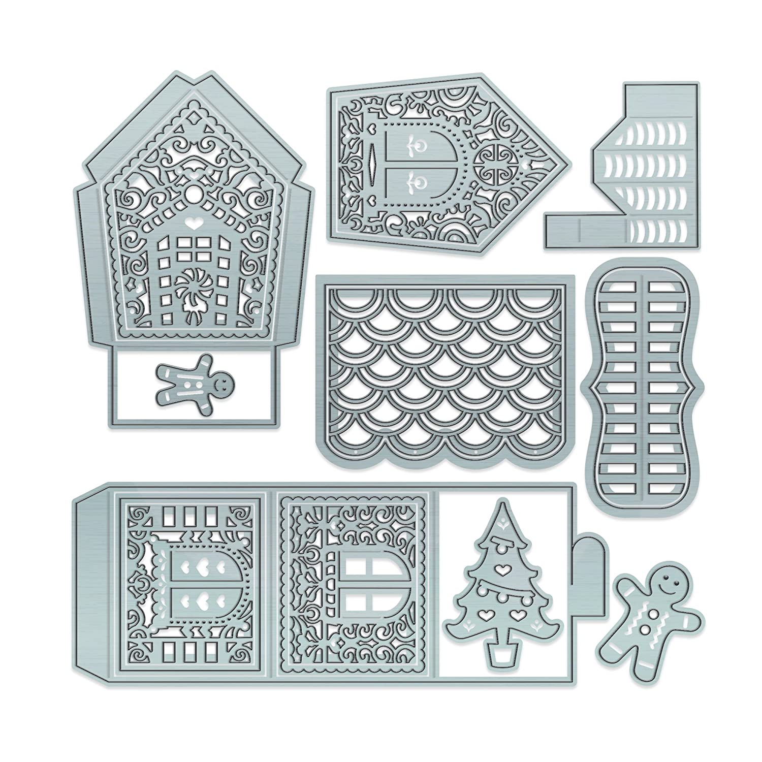 Gingerbread House Cutting Dies
