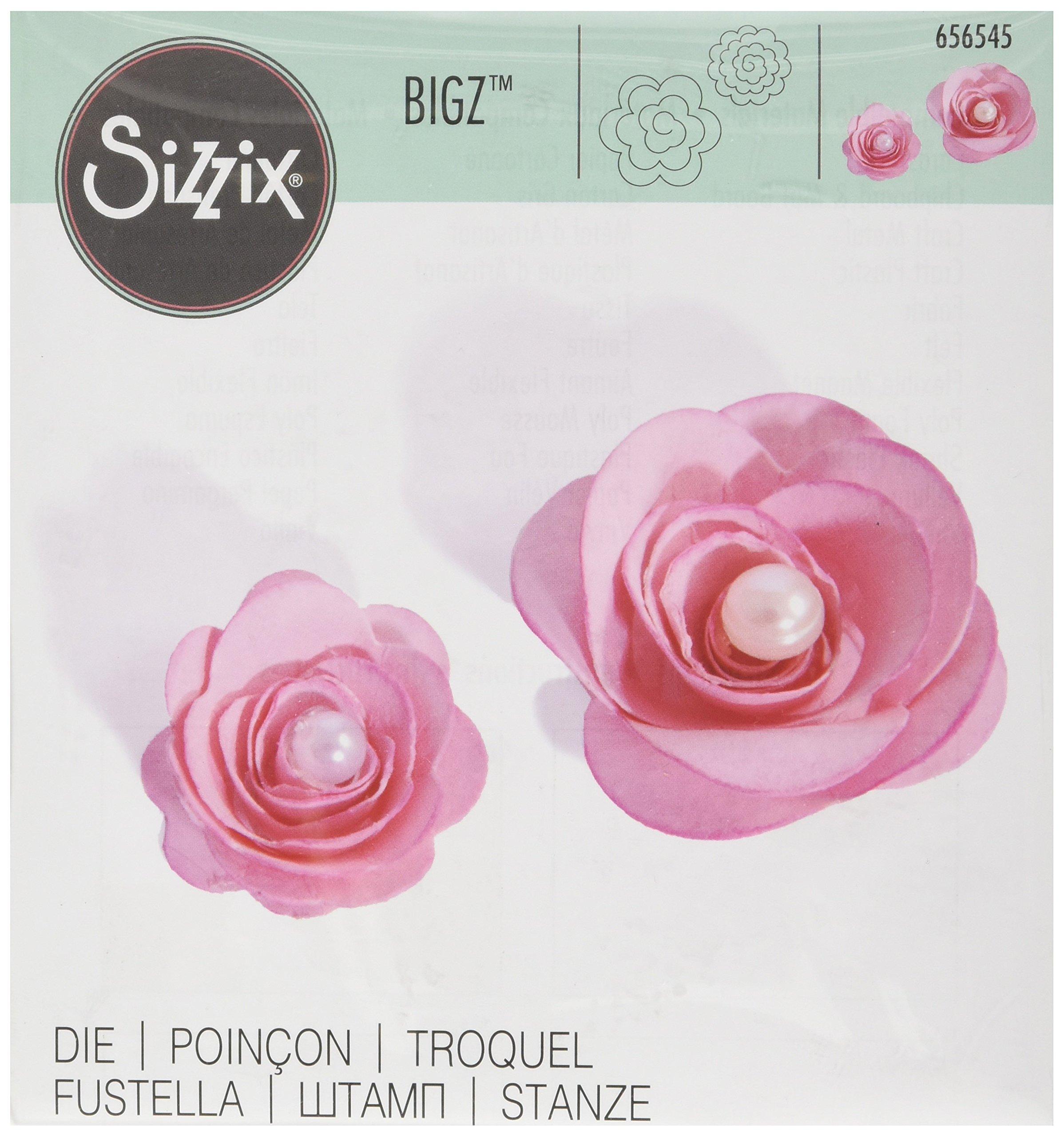 Sizzix Bigz Die - Flowers, 3-D by Beth Reames