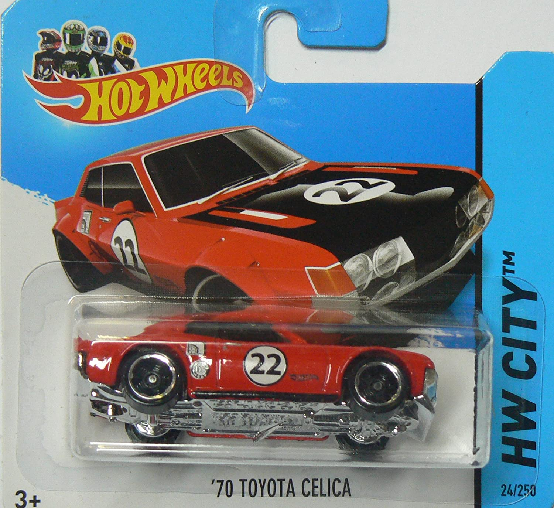 Hot Wheels 2013 Toyota Celica Yellow HW City 1//250
