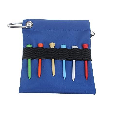 6 piezas de tees de madera de golf (54 mm) - bolsa de ...