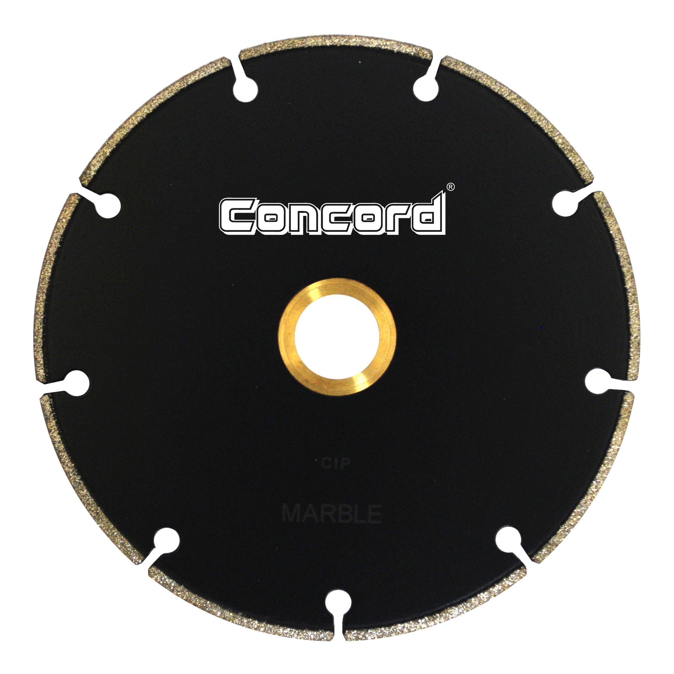 Disco de Diamante CONCORD TEPM045A03SP de mármol galvanizado de 4 5 pulg.