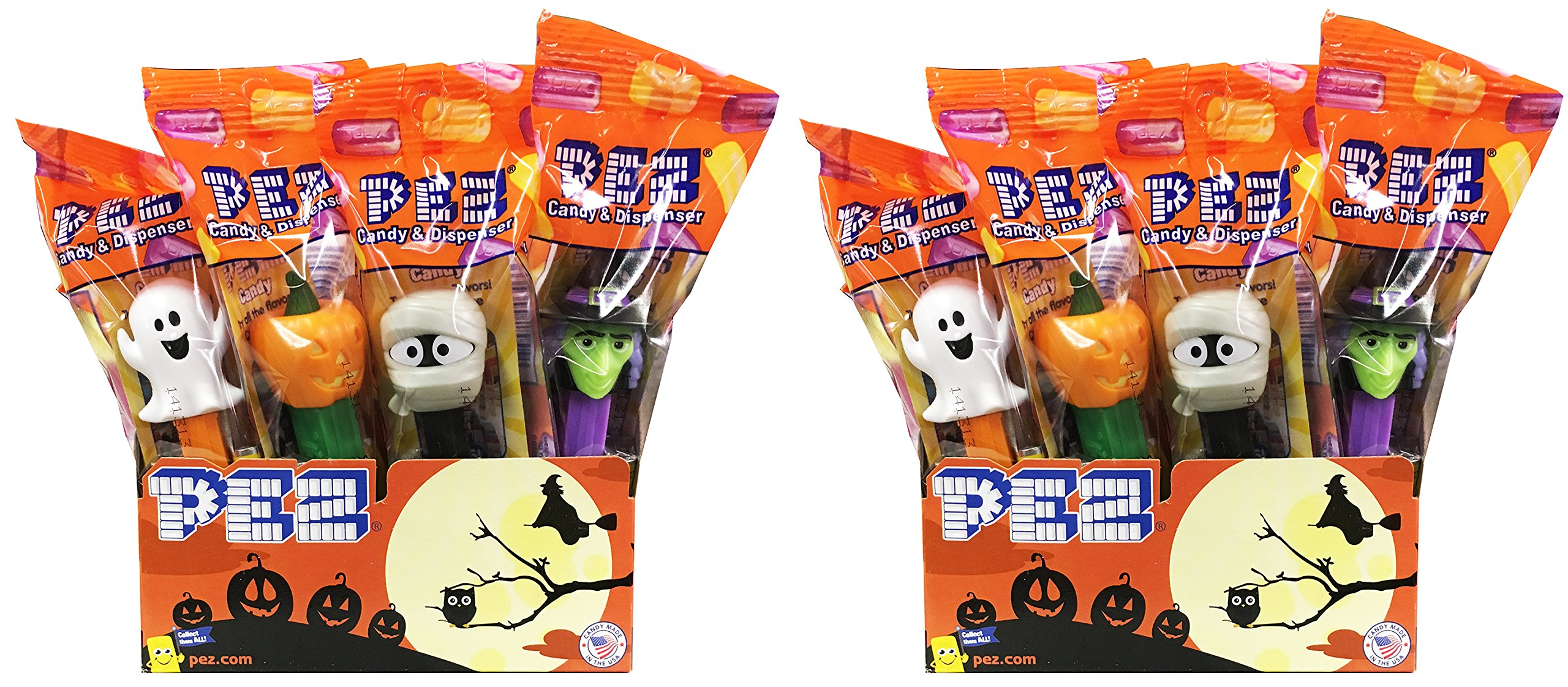 CDM product Halloween Trick or Treat PEZ Candy Dispensers: Pack of 24 small thumbnail image