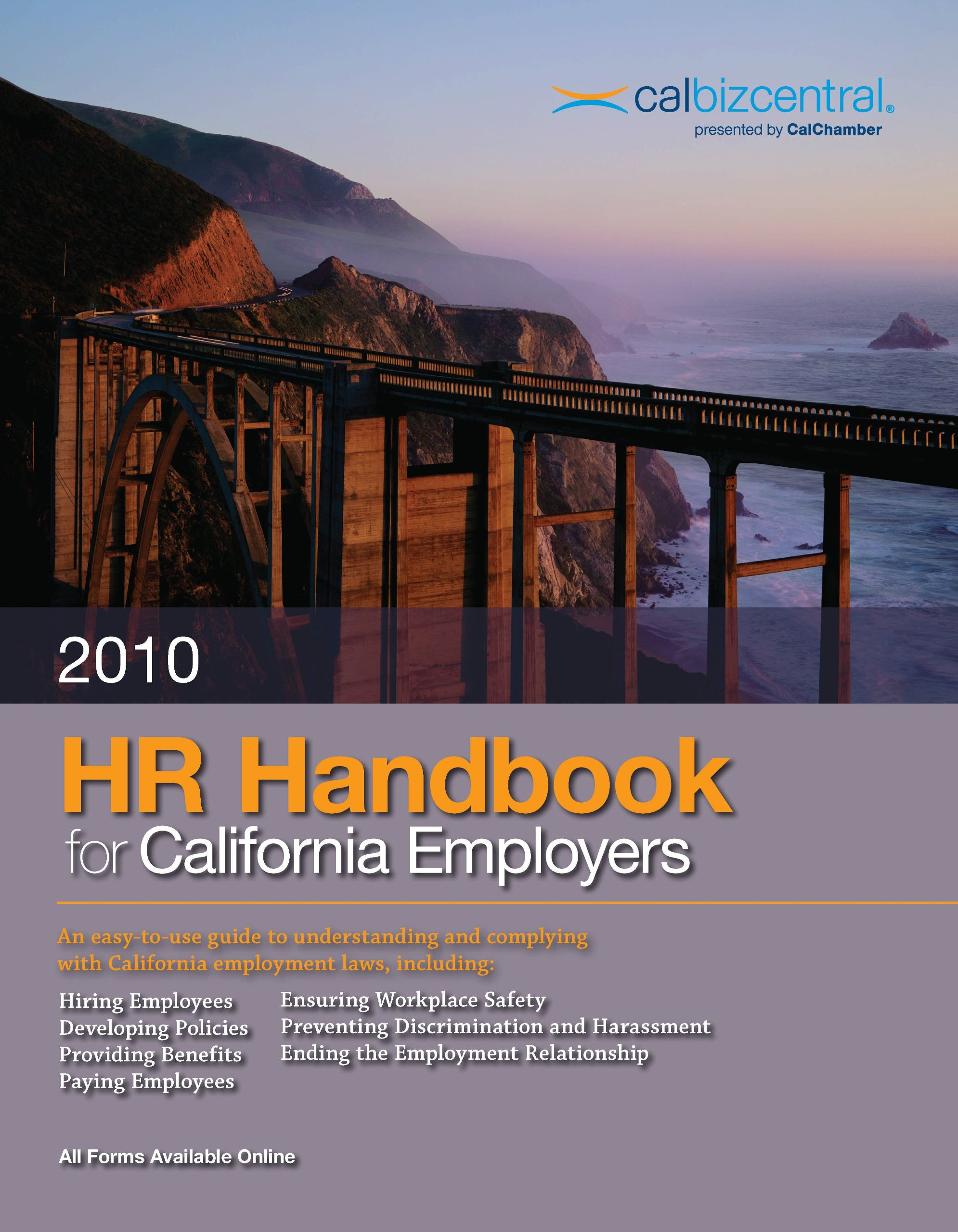 2010 HR Handbook for California Employers PDF