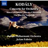 Dances of Galánta Peacock Variations Dances of Marosszék Concerto for Orchestra