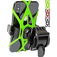 Bike Phone Mount for Any Smart Phone: iPhone X 8 7 6 5 Plus Samsung Galaxy S9 S8 S7 S7 S6 S5 S4 Edge, Nexus, Nokia, LG…