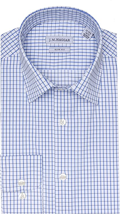 Amazon.com: Haggar - Camisa de vestir para hombre: Clothing