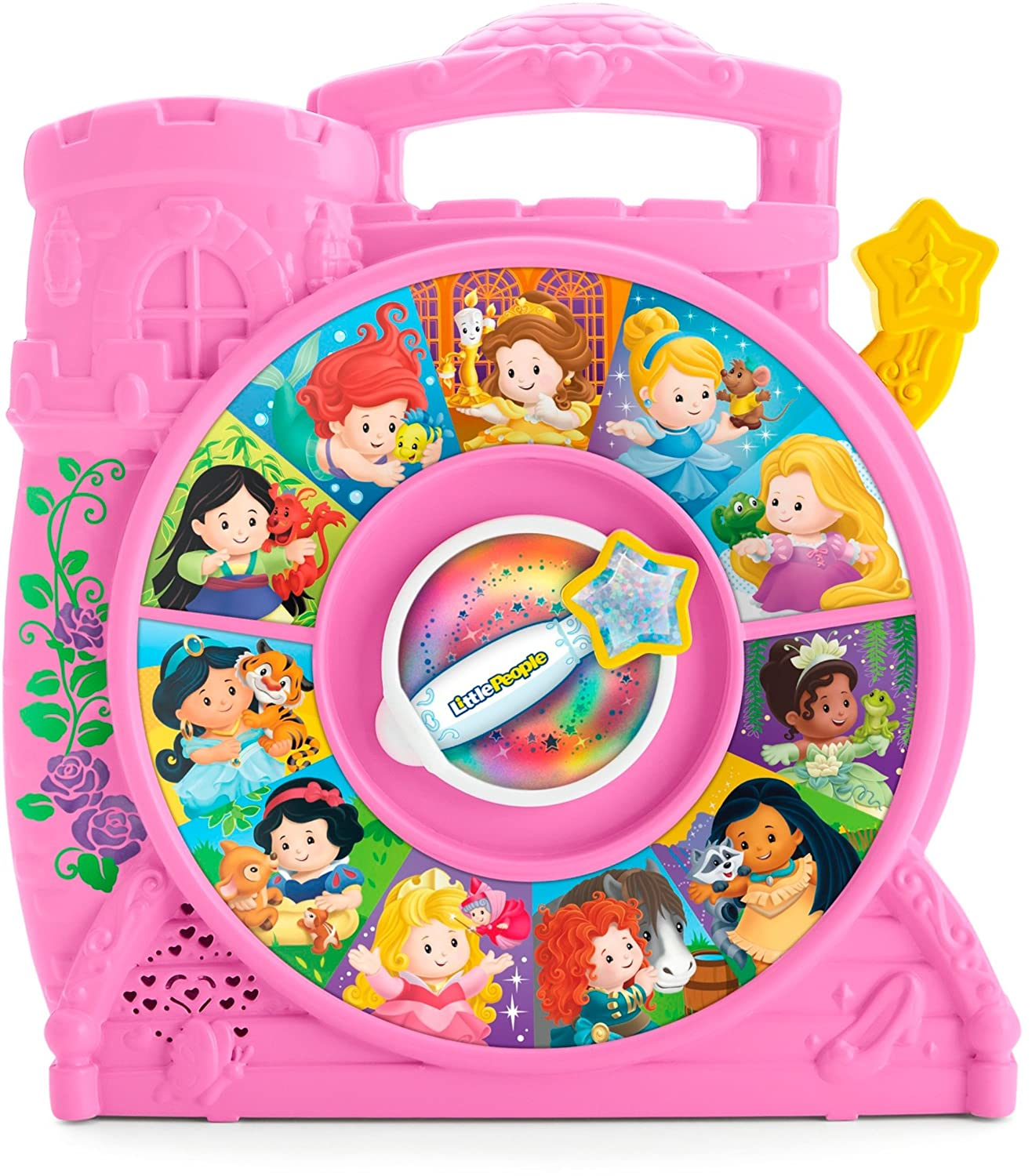 Fisher-Price Little People Disney Princess See 'n Say Playset Toy Fisher Price FKW21