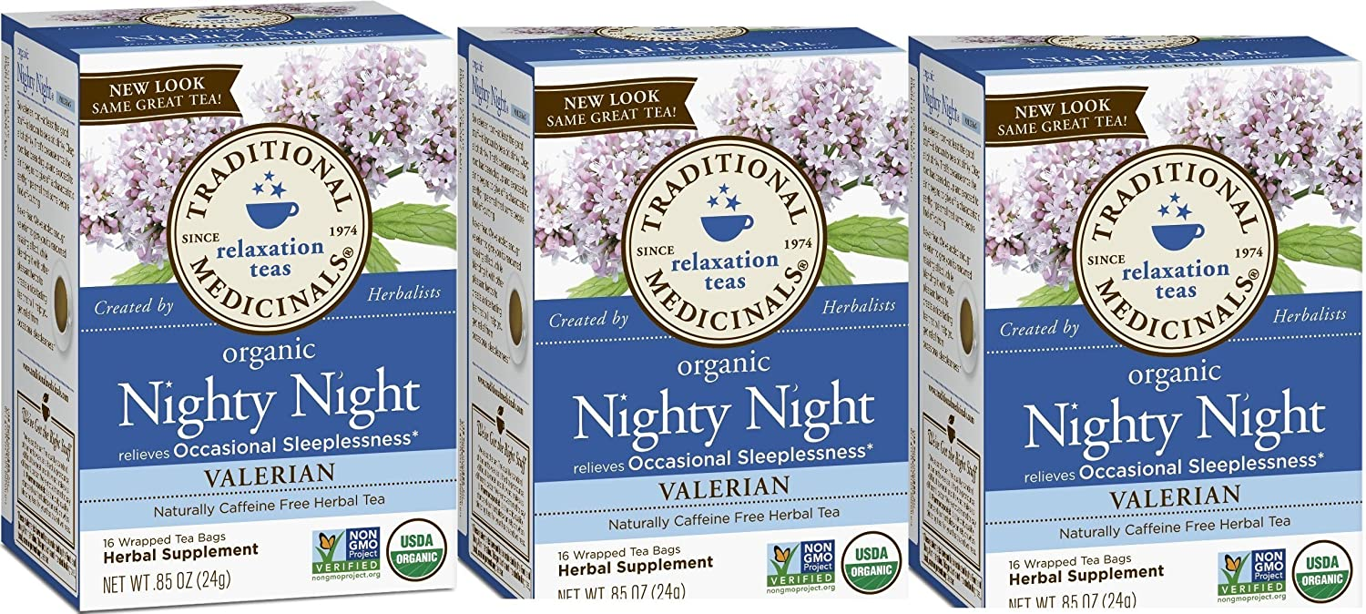 Amazon.com   Traditional Medicinals Nighty Night Valerian (Pack - 3)    Grocery   Gourmet Food a0bf8bd68