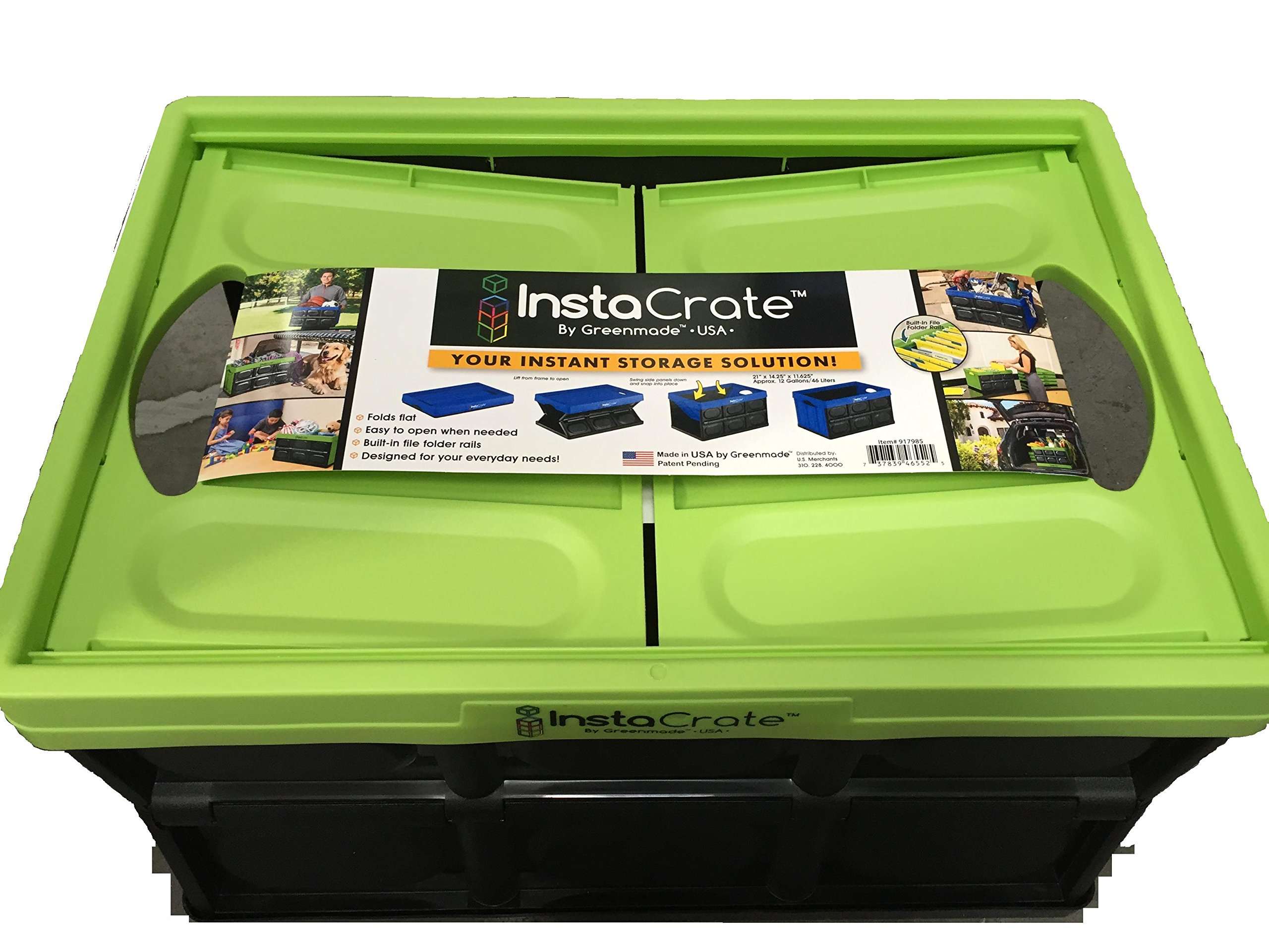 InstaCrate Collapsible 12 Gallon Storage Bin (2)