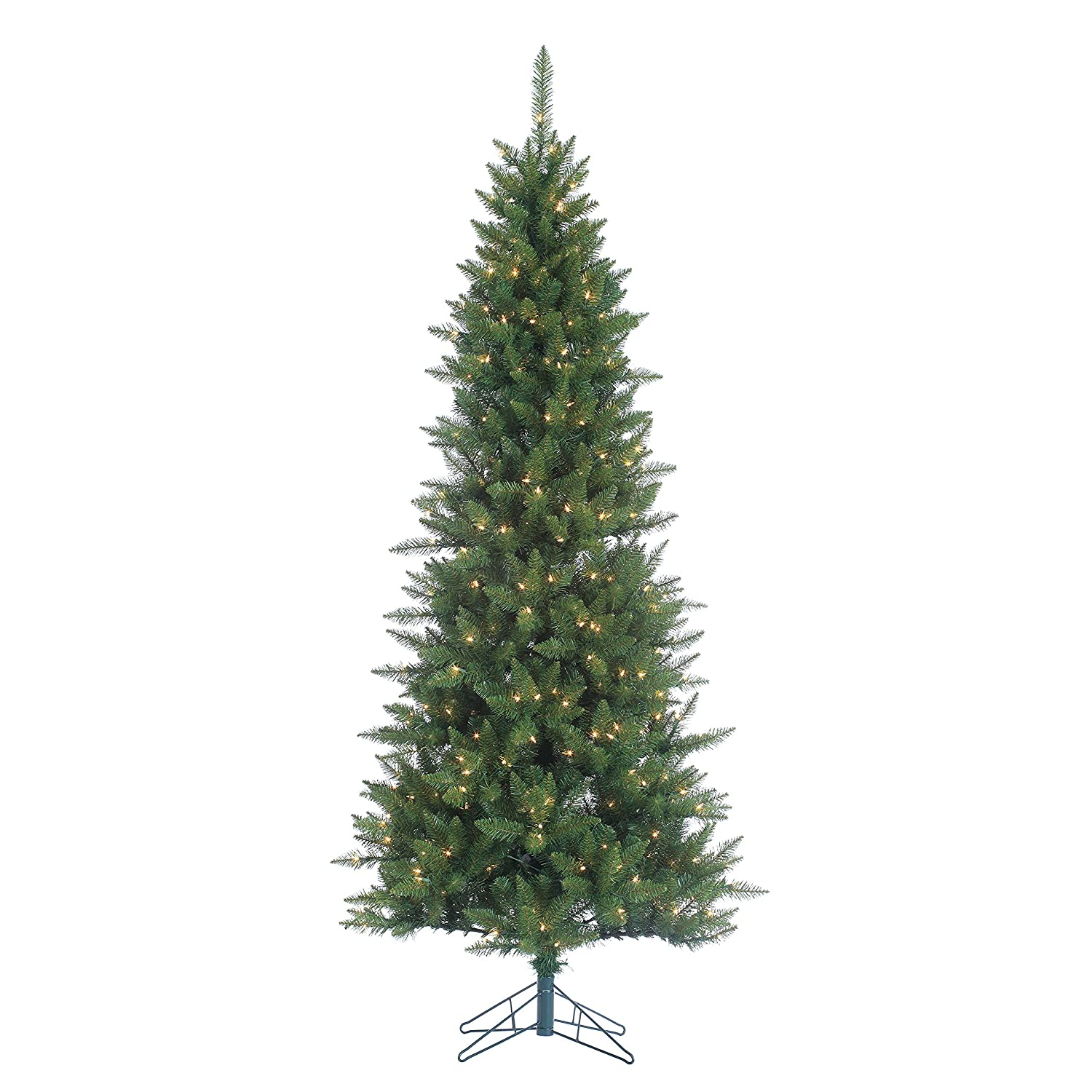 sterling tree company 75 narrow nordic fir artificial christmas tree 90 l x - Sterling Christmas Trees