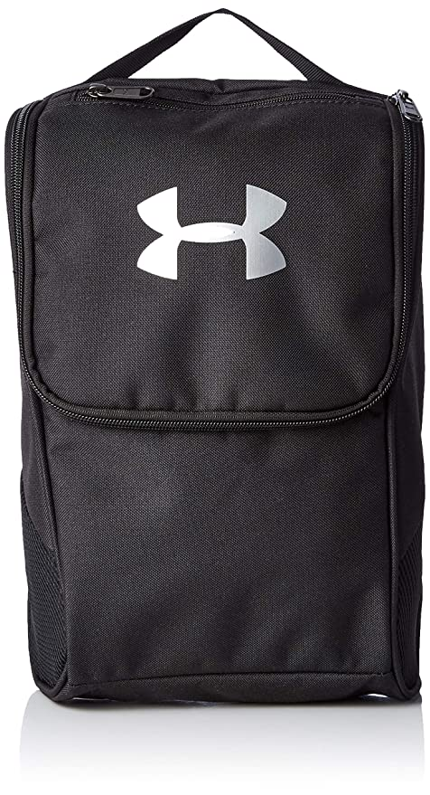 Under Armour UA Shoe Bag Mochila, Unisex Adulto, Negro Black/Silver 001,