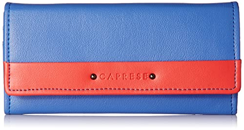 4143a9c5 Caprese Zara Women's Wallet (Blue-Dk Pink): Amazon.in: Shoes & Handbags
