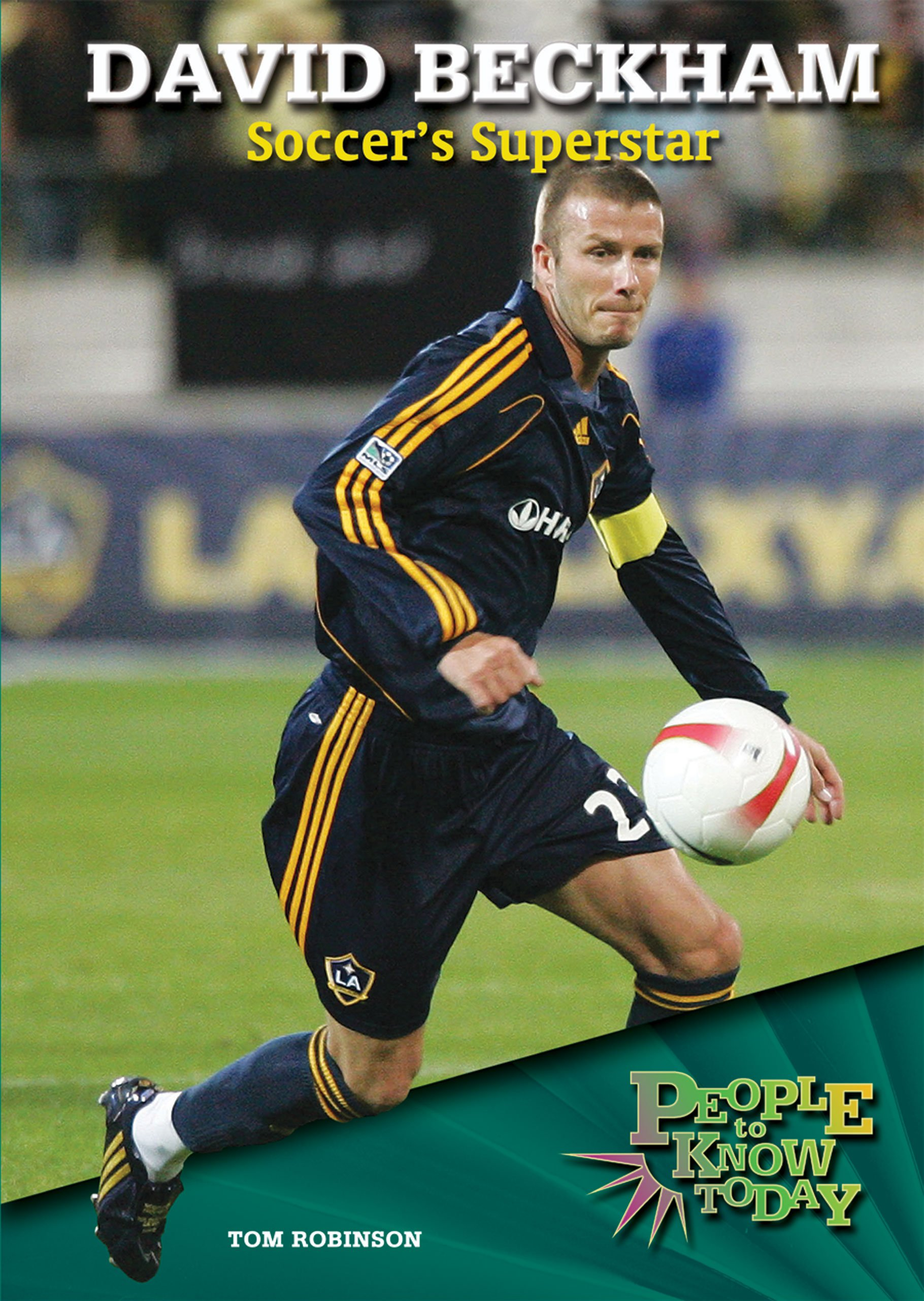 Read Online David Beckham: Soccer's Superstar (People to Know Today) PDF