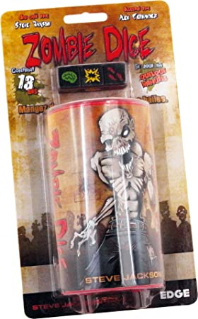 Asmodée UBIZD01 Zombie Dice – Juego de Dados: Amazon.es: Juguetes ...