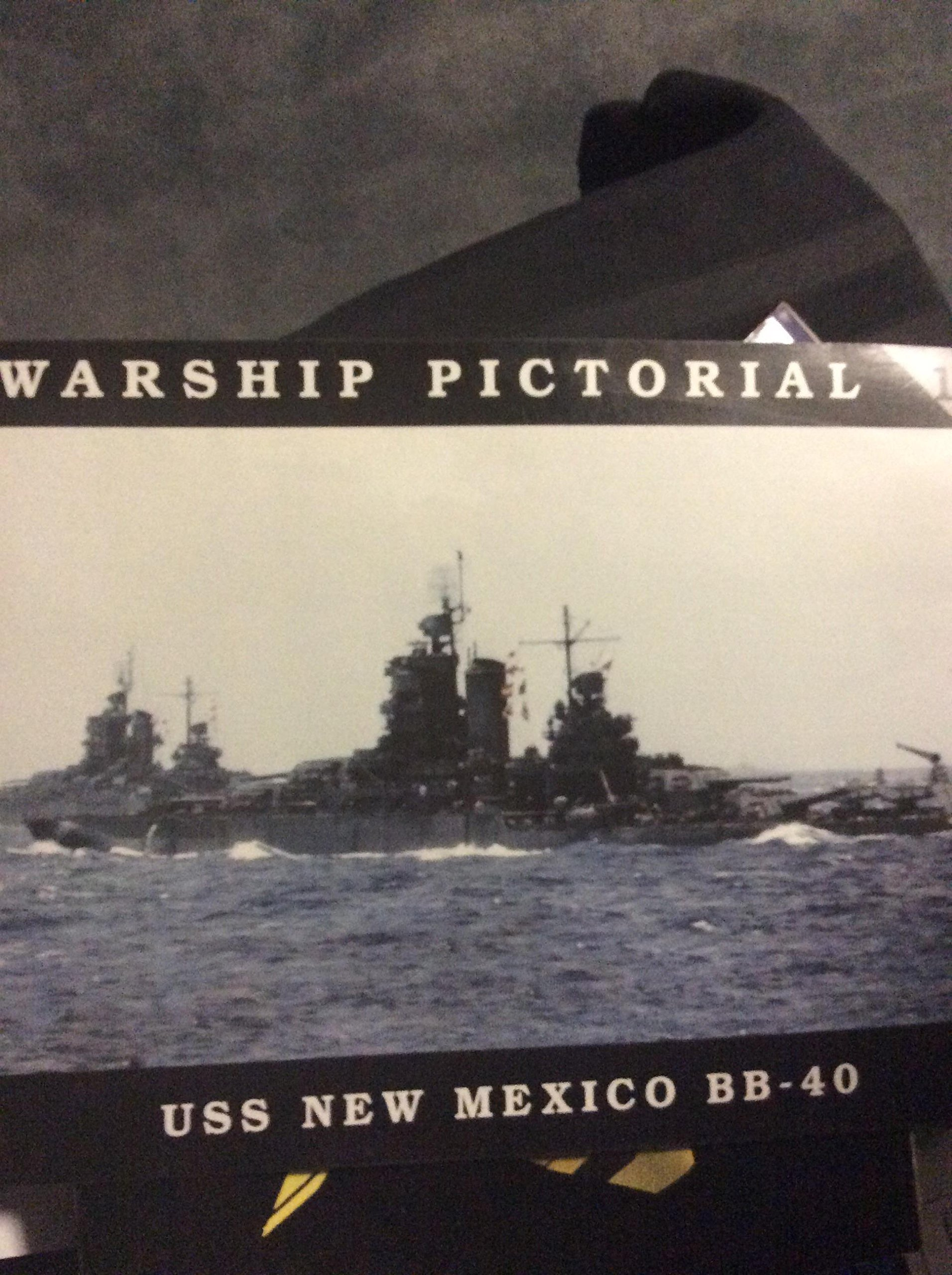 Warship Pictorial No. 18 - USS New Mexico BB-40