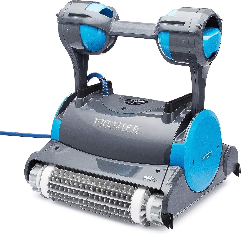 Amazon.com: Dolphin Premier Robotic Pool Cleaner: Jardín y ...