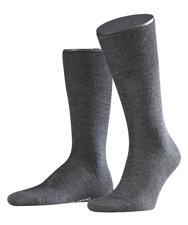 Falke 14435 Airport Socke, Calze da uomo FALKE - 14435 Airport Socke Grigio 47/48 B0018PVR9E