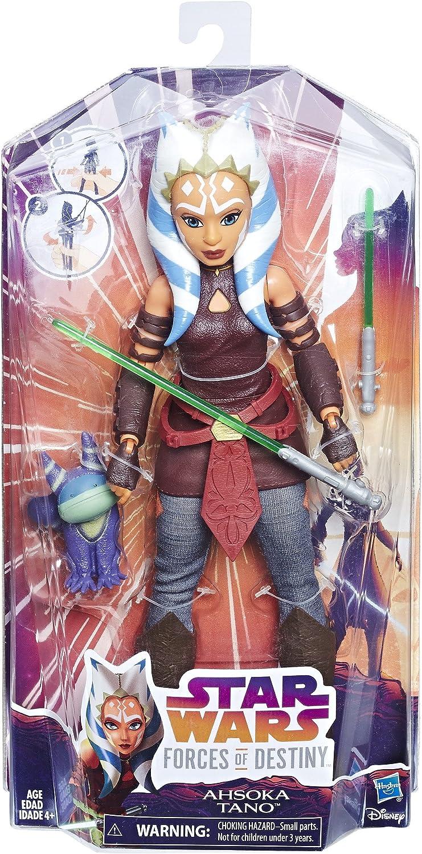 """Star Wars Forces Of Destiny Ahsoka Tano Doll Action Figure 12"""" Hasbro New Rare"""