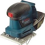 Bosch Professional 06019D0202 Professional Schwingschleifer GSS 10 ohne Akku, 3x Schleifpapier, 3x Schleifplatte, Stanzwerkzeug, Schraubendreher, 18 V, Durchmesser 1, 6 mm
