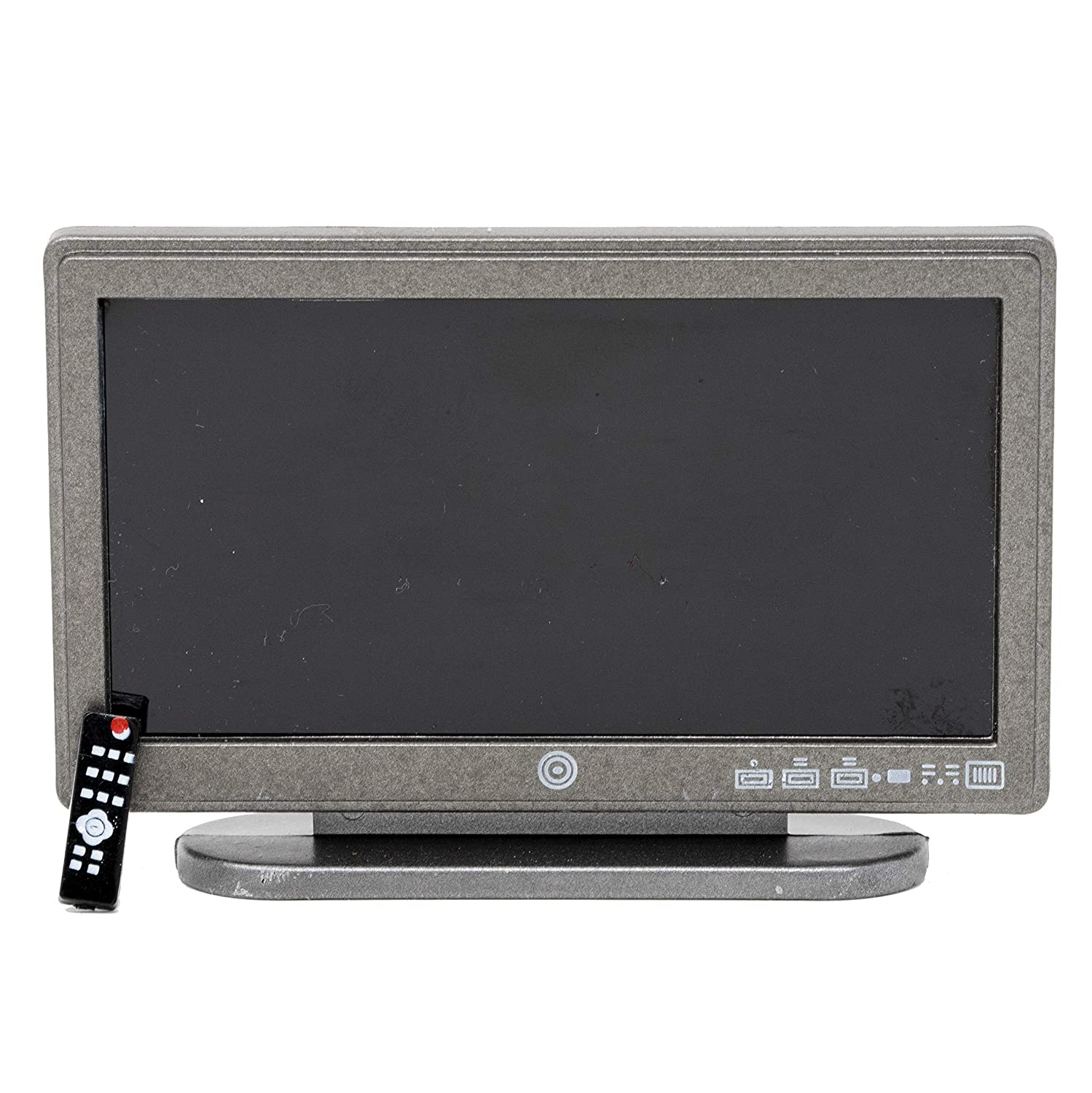American Heritage Industries TV for Dollhouse- Dollhouse TV at 1:12 Size, Mini Television for Your Mini Dollhouse Furniture