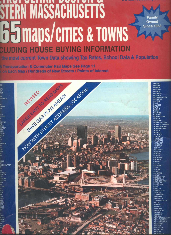 Universal Atlas Of Metropolitan Boston Eastern