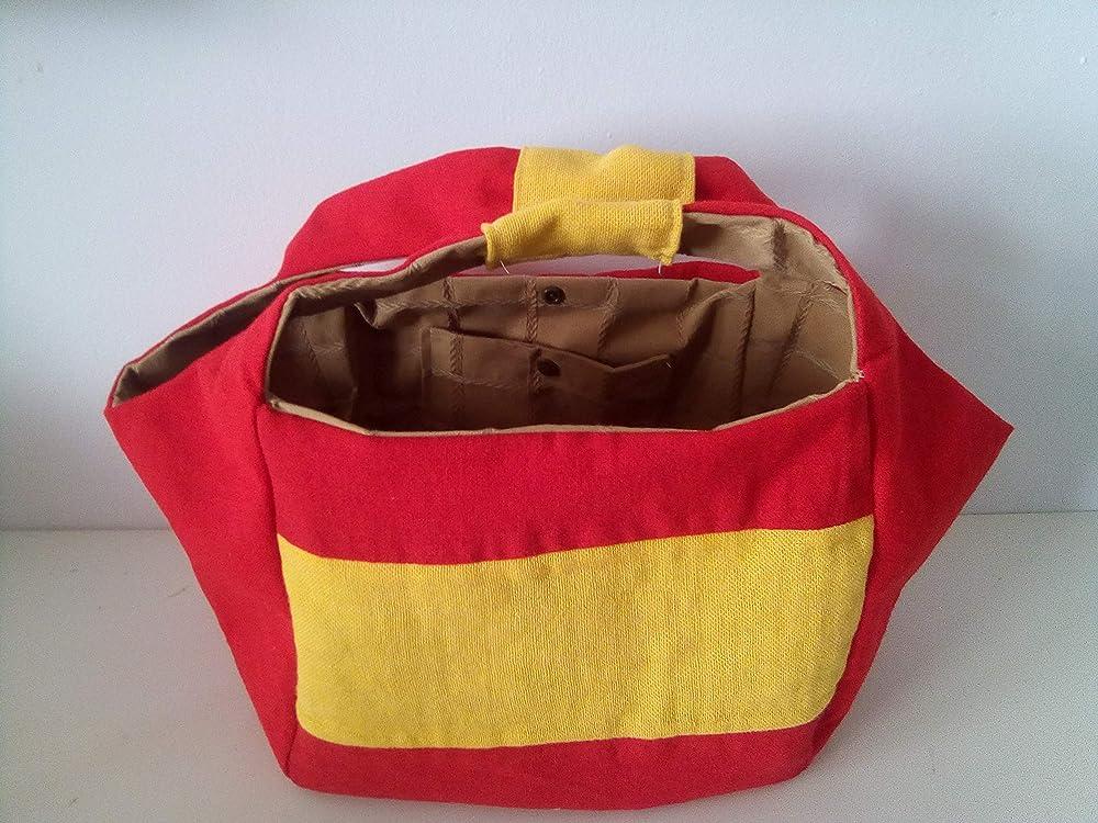 Bolso de mano modelo Bandera de España: Amazon.es: Handmade