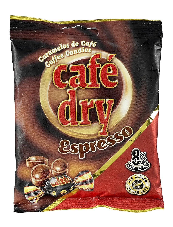 Café Dry - Caramelos duros con sabor a café - Sin gluten - 1 kg: Amazon.es: Alimentación y bebidas